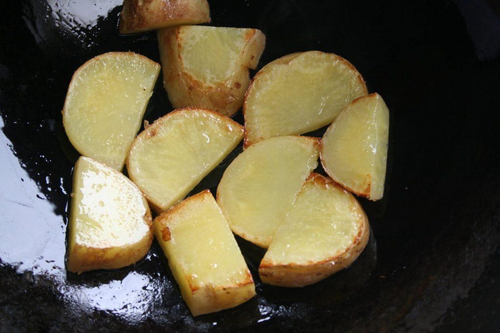 تحضير البطاطس