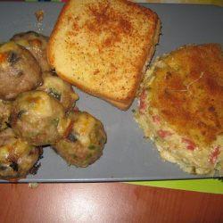 كراتان البطاطس بالكاشير وجبن الموتزاريلا